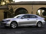 Lexus LS 600h L (UVF45) 2007–09 pictures