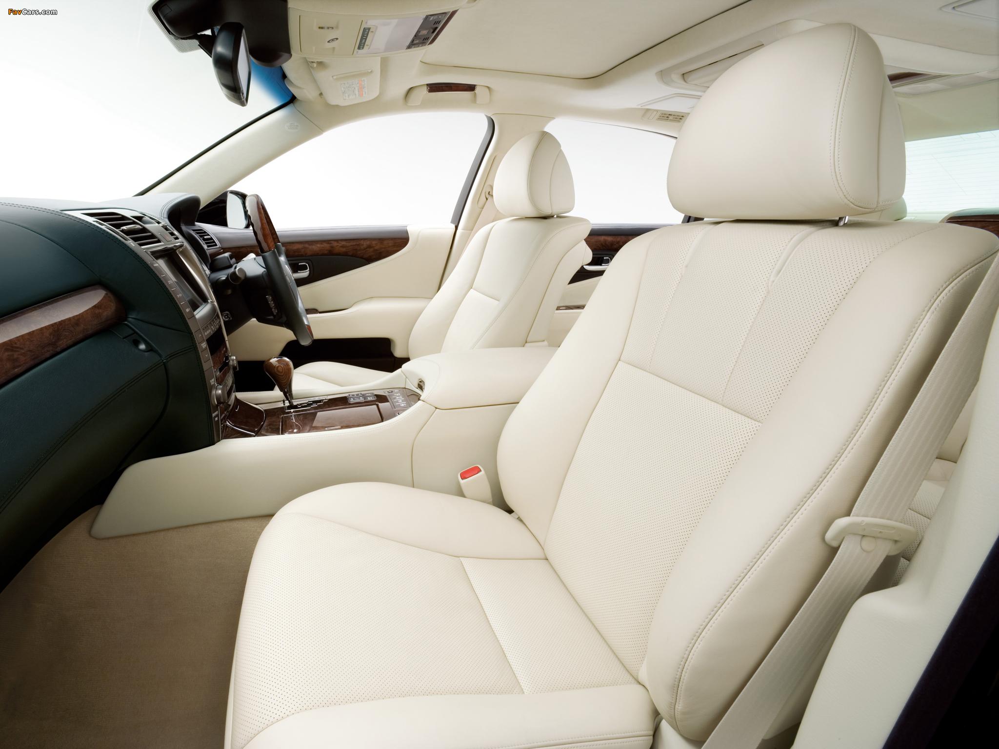 Lexus LS 600h L JP-spec (UVF45) 2007–09 pictures (2048 x 1536)