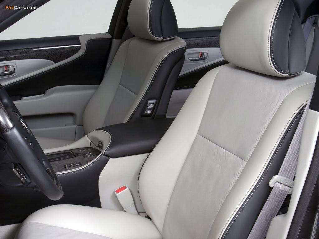 WALD Lexus LS 460 VIP (USF40) 2007 wallpapers (1024 x 768)