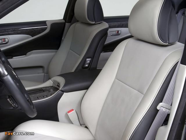 WALD Lexus LS 460 VIP (USF40) 2007 wallpapers (640 x 480)