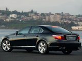 Lexus LS 460 AU-spec (USF40) 2007–09 wallpapers