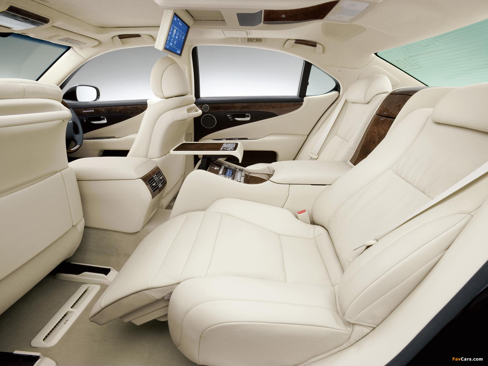 Lexus LS 600h L JP-spec (UVF45) 2007–09 wallpapers (1600 x 1200)