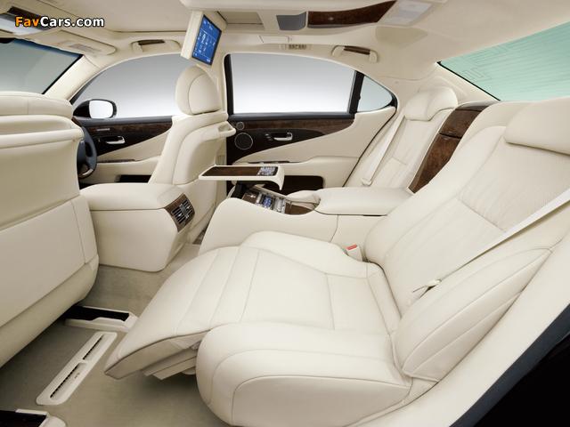 Lexus LS 600h L JP-spec (UVF45) 2007–09 wallpapers (640 x 480)