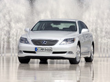 Lexus LS 600h EU-spec (UVF45) 2007–09 wallpapers