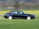 Lexus LS 600h EU-spec (UVF45) 2007–09 wallpapers