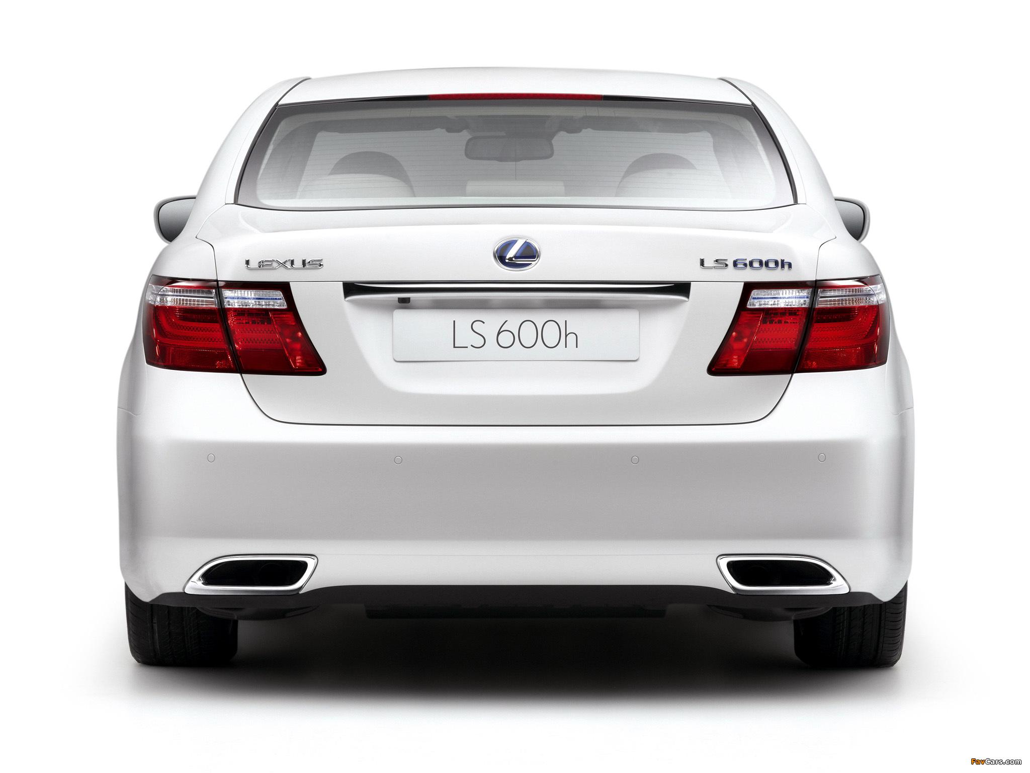 Lexus LS 600h EU-spec (UVF45) 2007–09 wallpapers (2048 x 1536)