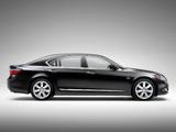Lexus LS 600h L (UVF45) 2007–09 wallpapers