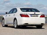 Lexus LS 600h EU-spec (UVF45) 2009–12 images