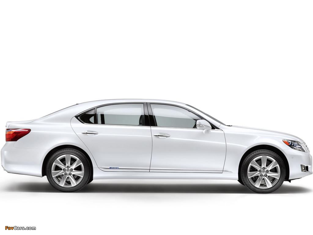 Lexus LS 600h L EU-spec (UVF45) 2009–12 images (1024 x 768)