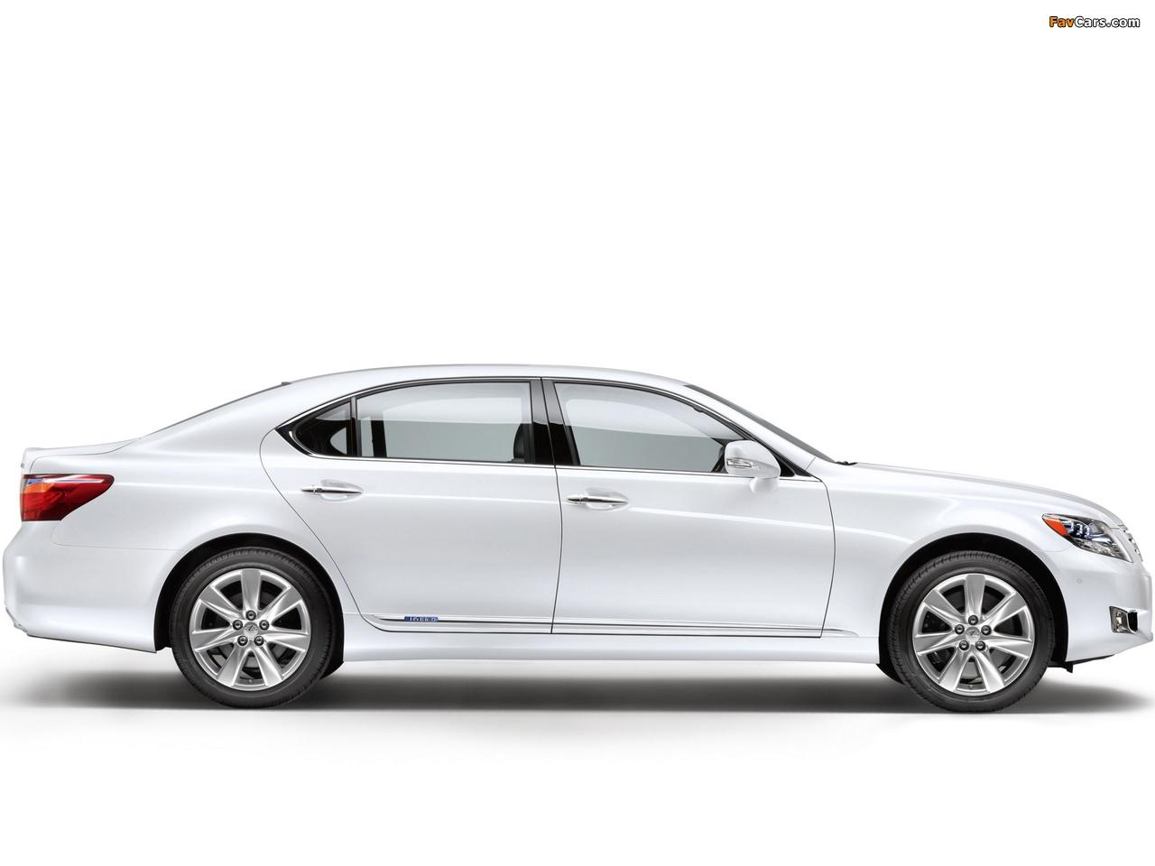 Lexus LS 600h L EU-spec (UVF45) 2009–12 images (1280 x 960)