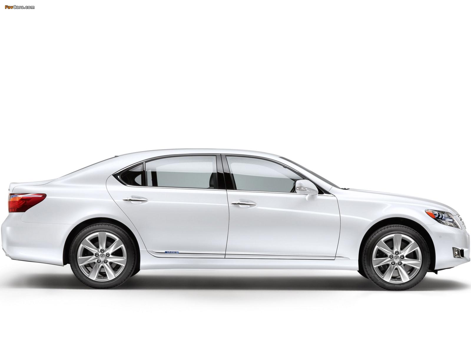 Lexus LS 600h L EU-spec (UVF45) 2009–12 images (1600 x 1200)