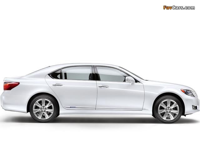 Lexus LS 600h L EU-spec (UVF45) 2009–12 images (640 x 480)