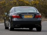 Lexus LS 600h L UK-spec (UVF45) 2009–12 images