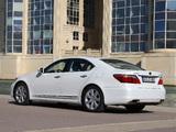 Lexus LS 600h EU-spec (UVF45) 2009–12 photos