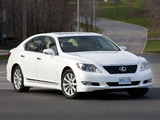 Lexus LS 460 Sport (USF40) 2009–12 photos