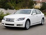 Lexus LS 600h L (UVF45) 2009–12 photos