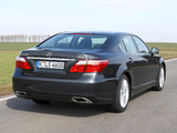 Lexus LS 460 EU-spec (USF40) 2009–12 photos