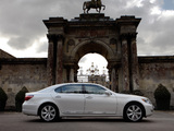 Lexus LS 600h L UK-spec (UVF45) 2009–12 photos