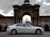 Lexus LS 600h L UK-spec (UVF45) 2009–12 photos