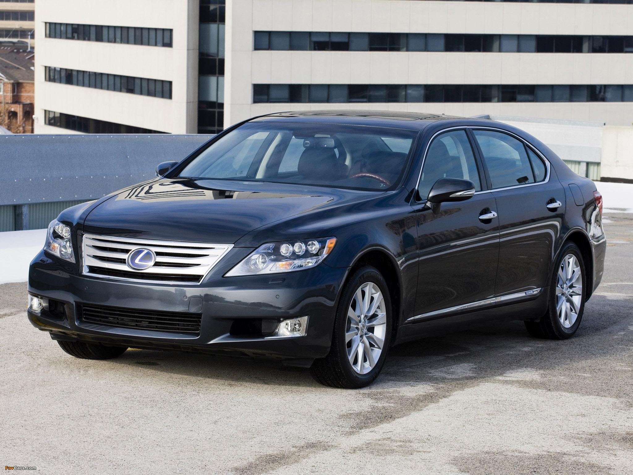 Lexus LS 600h L (UVF45) 2009–12 pictures (2048 x 1536)
