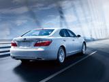 Lexus LS 600h JP-spec (UVF45) 2009–12 pictures