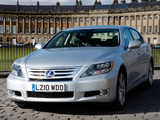 Lexus LS 600h L UK-spec (UVF45) 2009–12 pictures