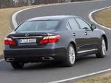 Lexus LS 460 EU-spec (USF40) 2009–12 pictures