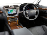 Lexus LS 460 Sport AU-spec (USF40) 2009 wallpapers