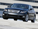 Lexus LS 600h L (UVF45) 2009–12 wallpapers