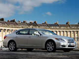Lexus LS 600h L UK-spec (UVF45) 2009–12 wallpapers