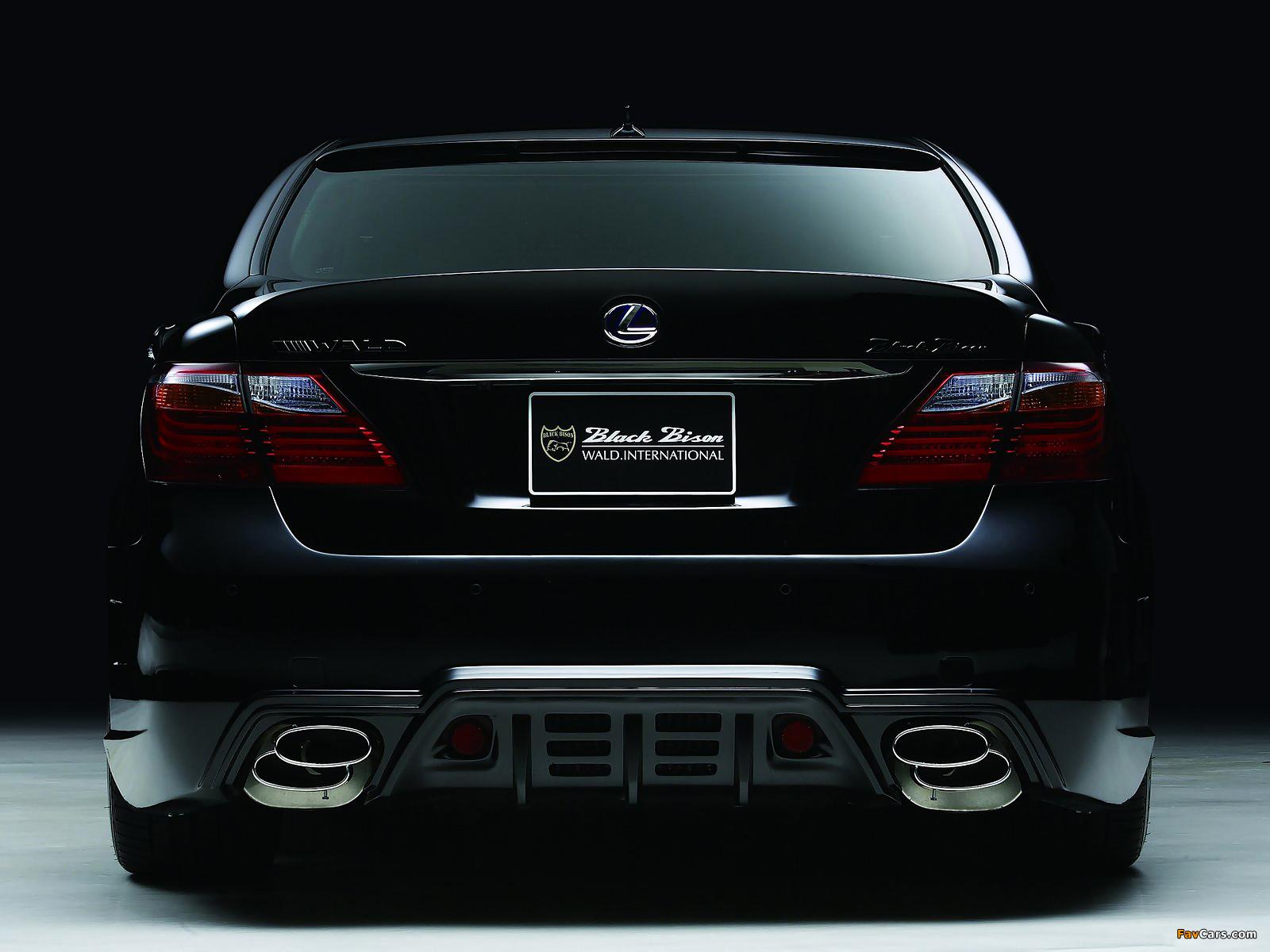 WALD Lexus LS 600h Black Bison Edition (UVF45) 2010 photos (1600 x 1200)