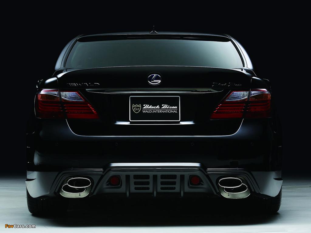 WALD Lexus LS 600h Black Bison Edition (UVF45) 2010 photos (1024 x 768)