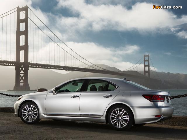 Lexus LS 460 2012 images (640 x 480)