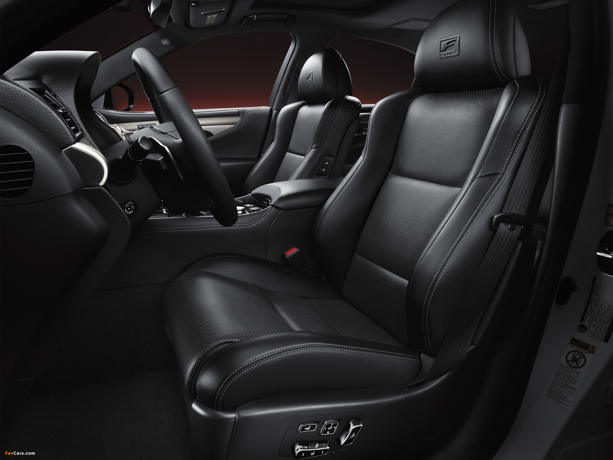 Lexus LS 460 F-Sport 2012 images (2048 x 1536)