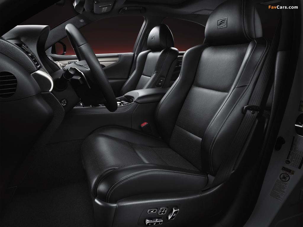 Lexus LS 460 F-Sport 2012 images (1024 x 768)