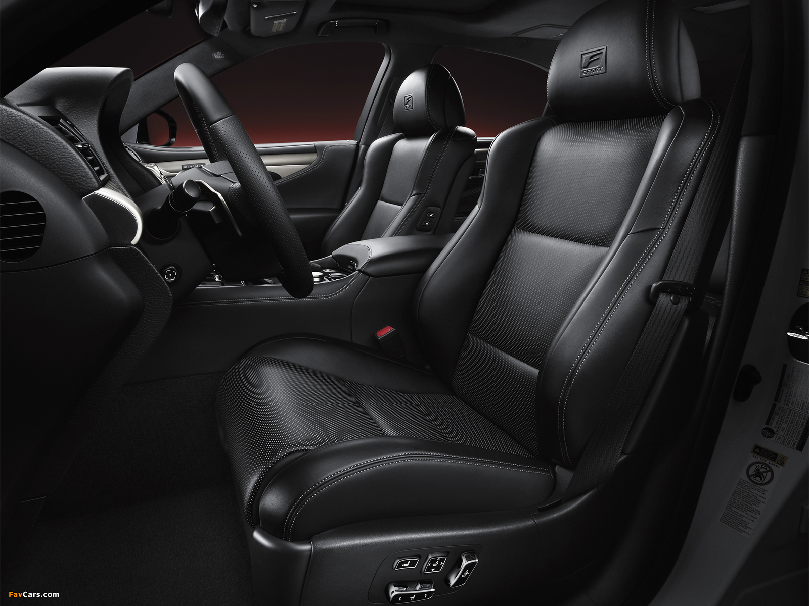 Lexus LS 460 F-Sport 2012 images (1600 x 1200)