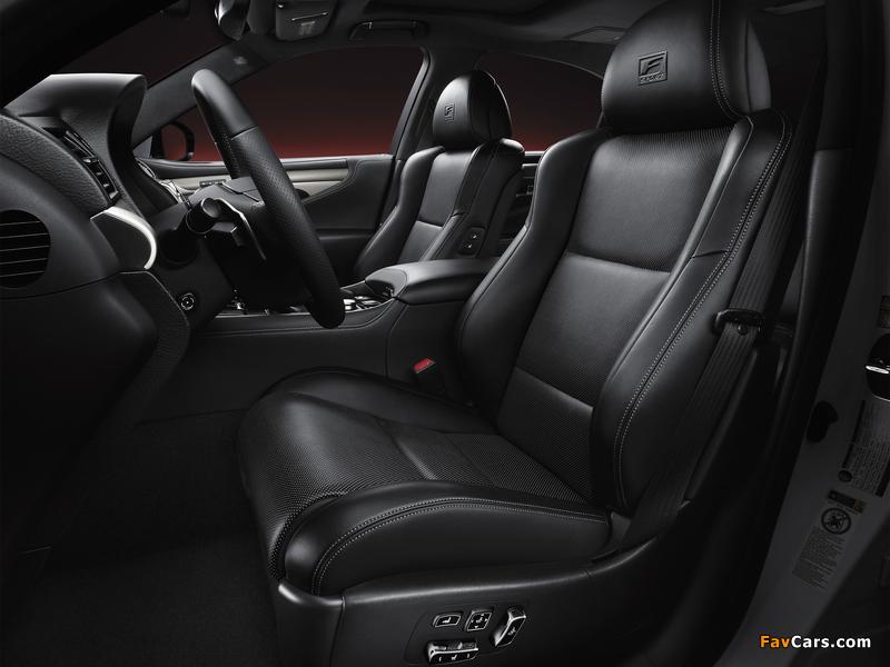 Lexus LS 460 F-Sport 2012 images (800 x 600)