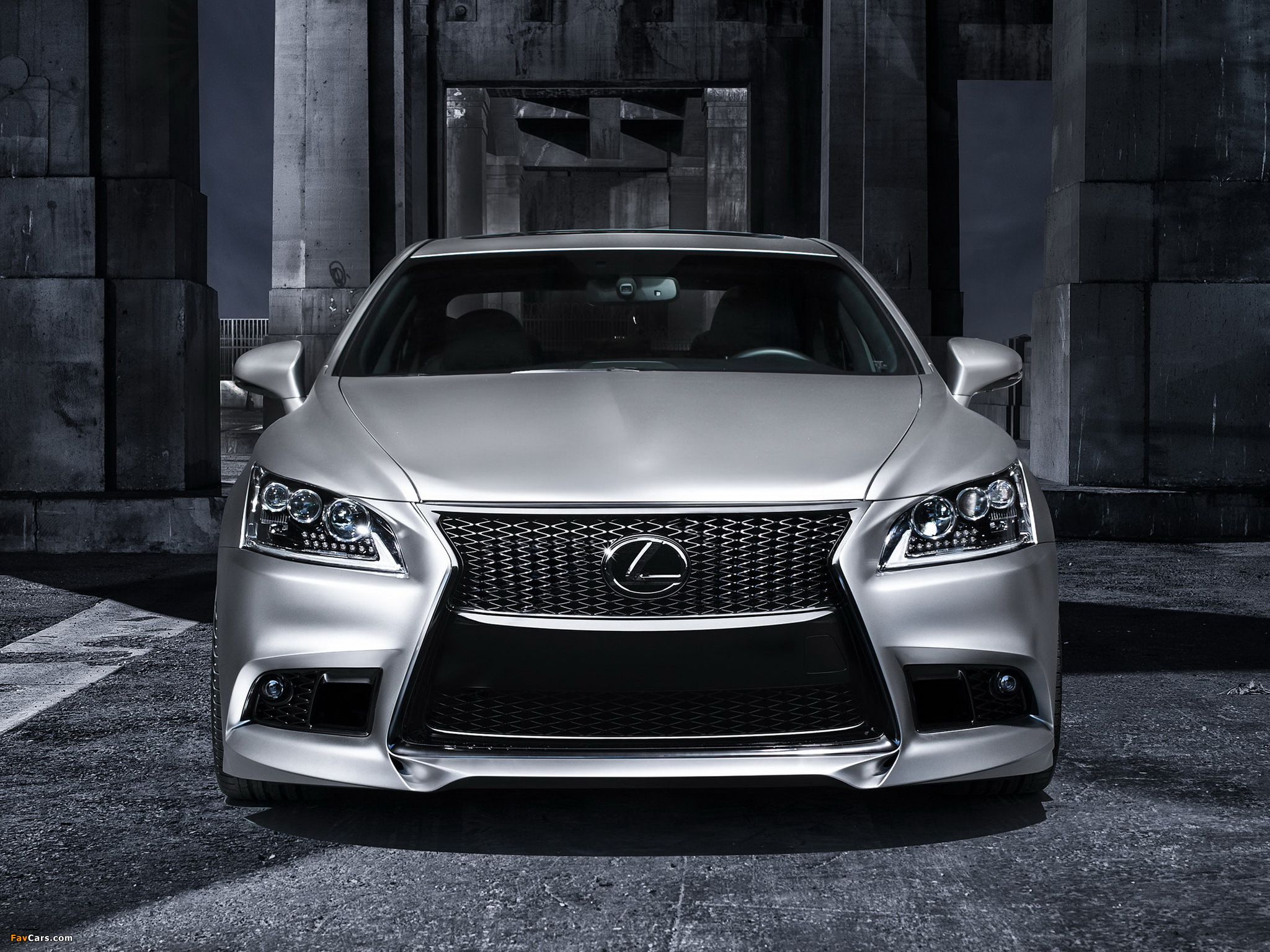 Lexus Project LS 460 F-Sport by Five Axis 2012 photos (2048 x 1536)