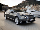 Lexus LS 600h L EU-spec 2012 photos