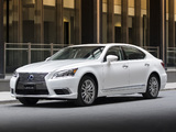 Lexus LS 600h L 2012 photos