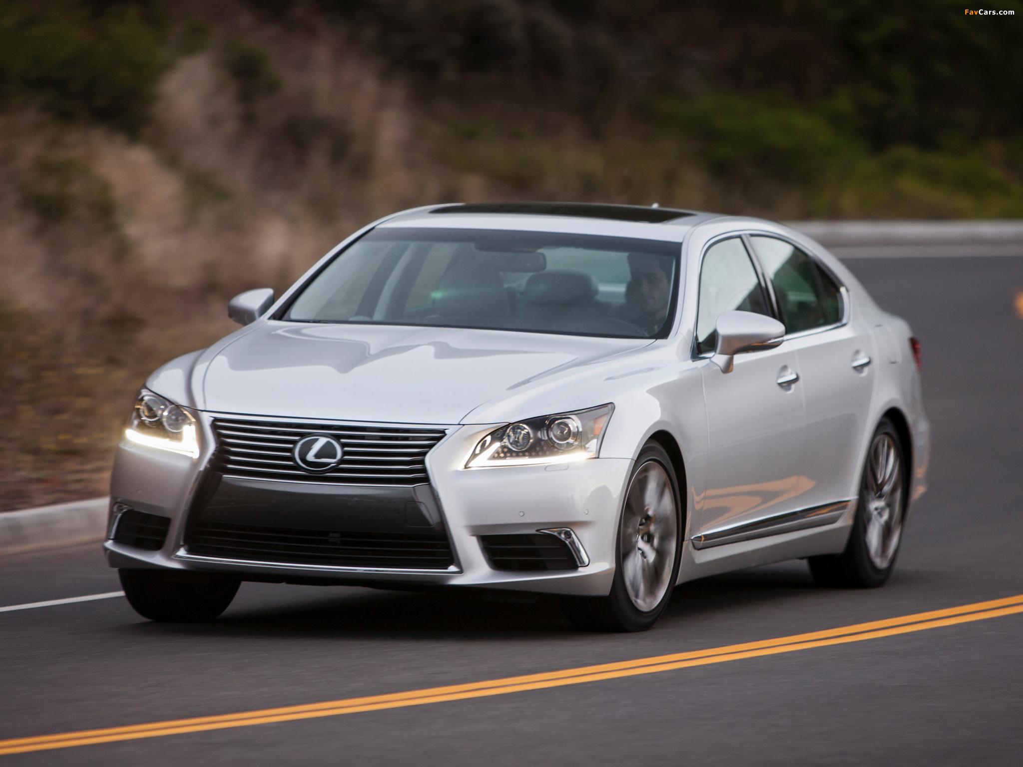 Lexus LS 460 2012 pictures (2048 x 1536)