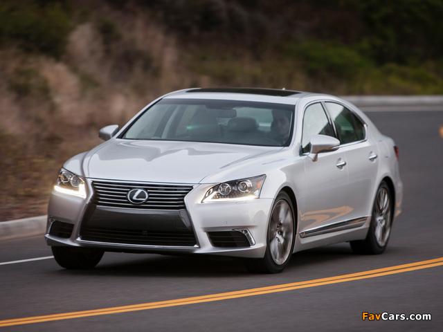 Lexus LS 460 2012 pictures (640 x 480)
