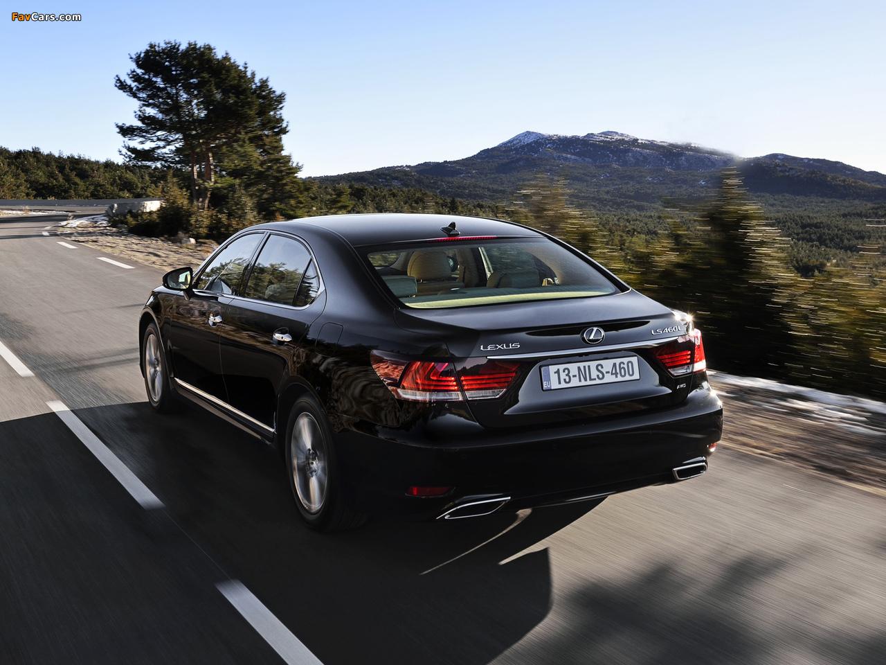 Lexus LS 460L EU-spec 2012 pictures (1280 x 960)