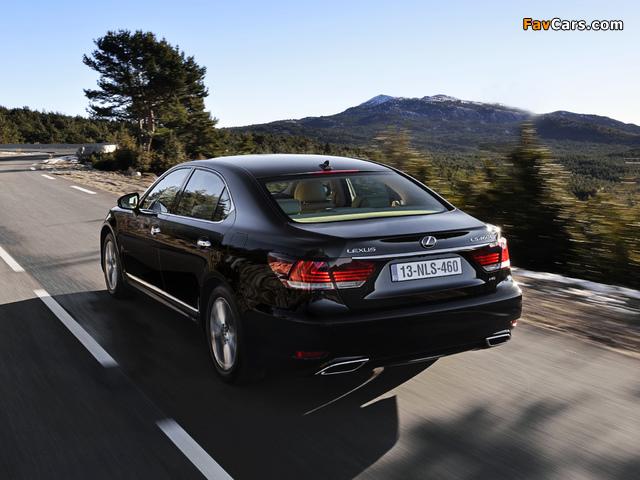 Lexus LS 460L EU-spec 2012 pictures (640 x 480)