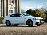 Lexus LS 460 F-Sport UK-spec 2012 pictures