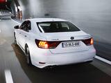 Lexus LS 600h F-Sport EU-spec 2012 pictures