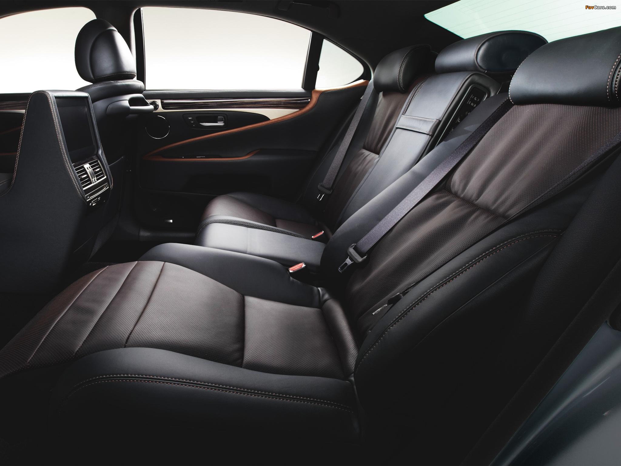 Lexus LS 600h L JP-spec 2012 pictures (2048 x 1536)