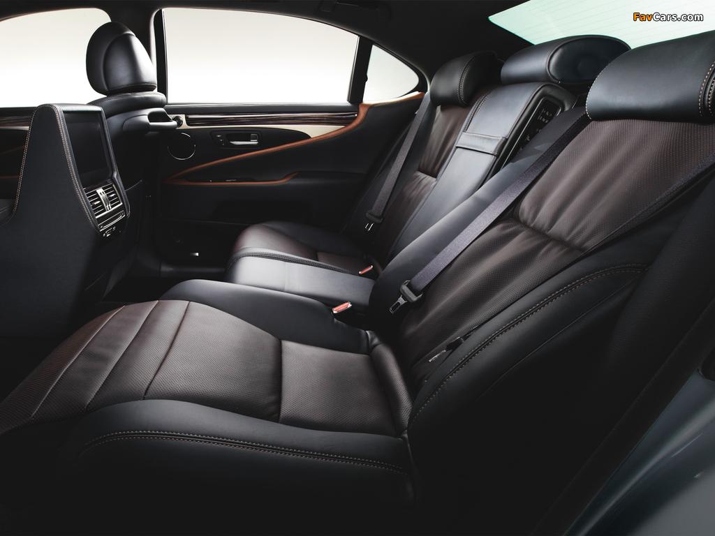 Lexus LS 600h L JP-spec 2012 pictures (1024 x 768)