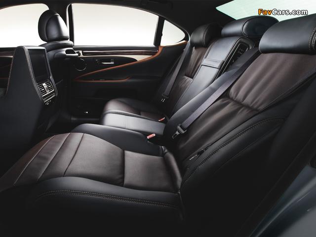 Lexus LS 600h L JP-spec 2012 pictures (640 x 480)