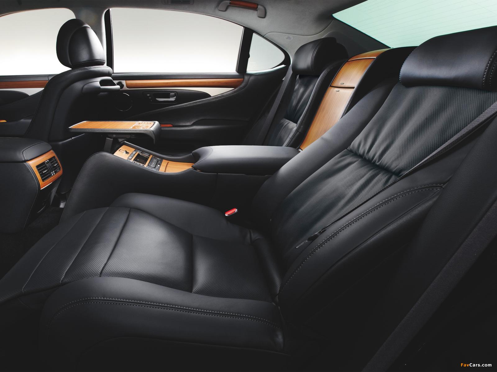 Lexus LS 600h L JP-spec 2012 pictures (1600 x 1200)